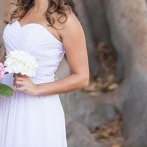 gorgeous lilac gown